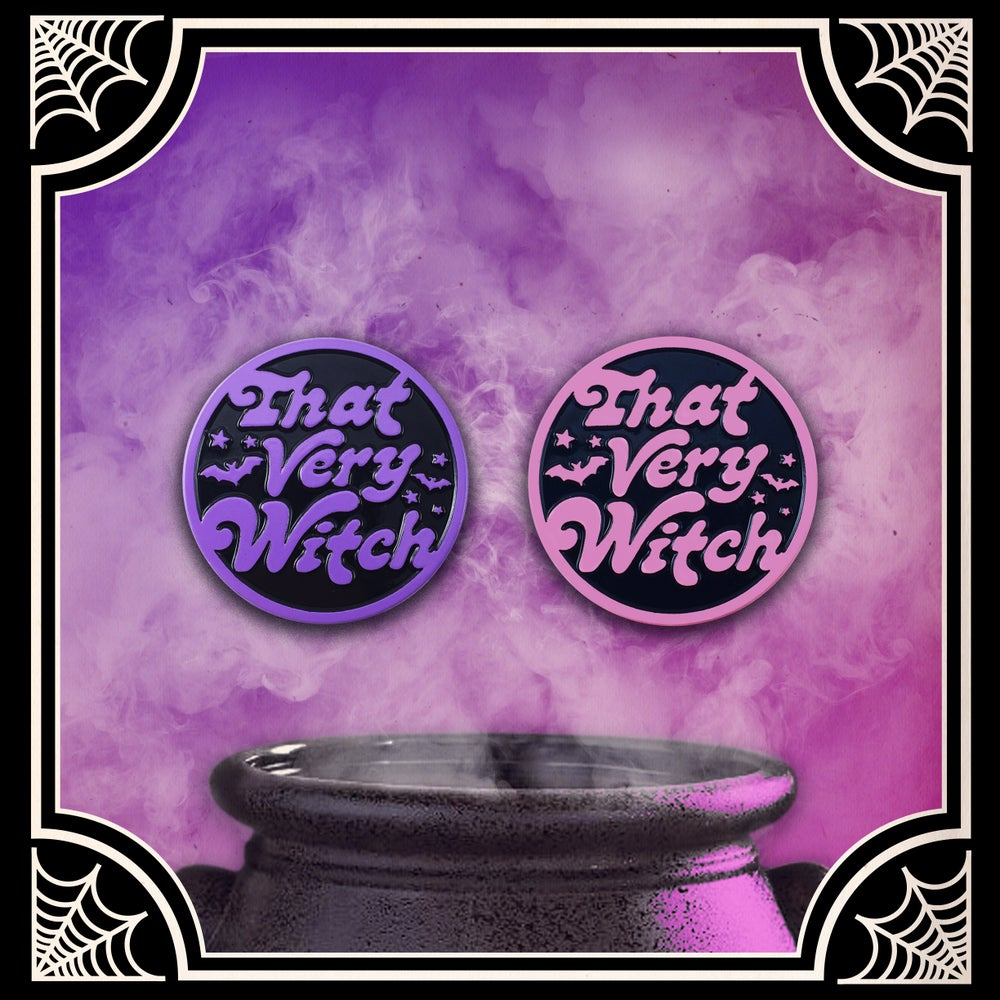 Image of 'That Very Witch' Enamel Pin