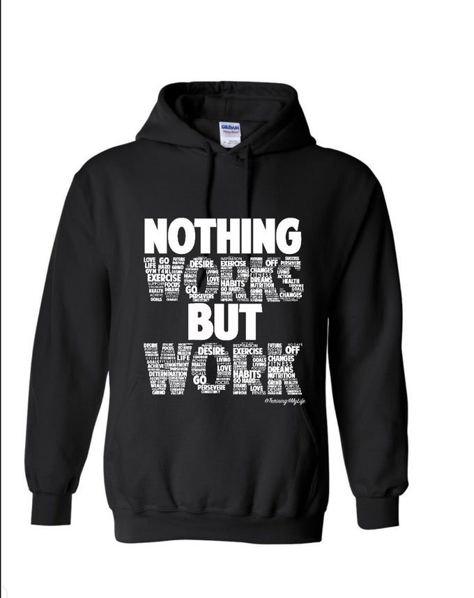 Image of Nothing Works But Work Unisex Hoodie