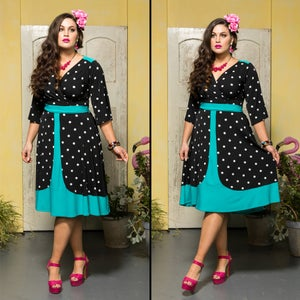 Image of SALSA SWING DRESS