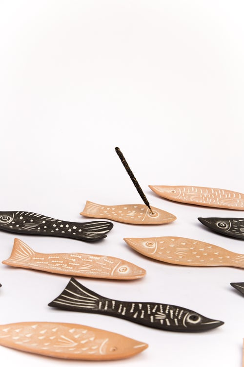 Image of Fish Incense Holders