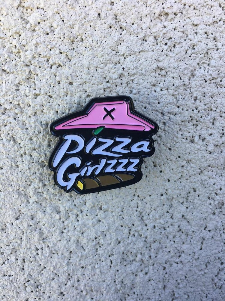 Image of PIZZAGIRLZZZ OFFICIAL SQUAD PIN