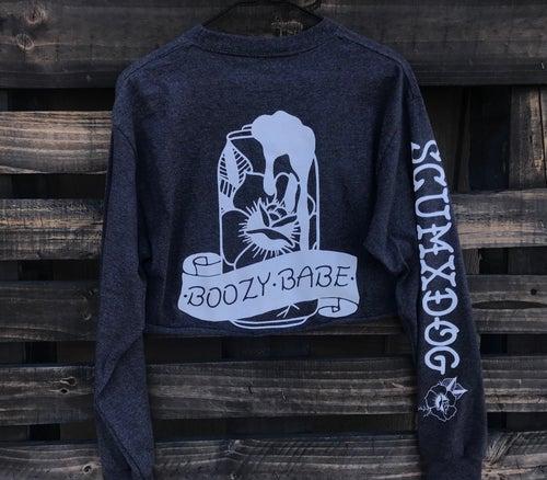 Image of BOOZY BABE LONGSLEEVE