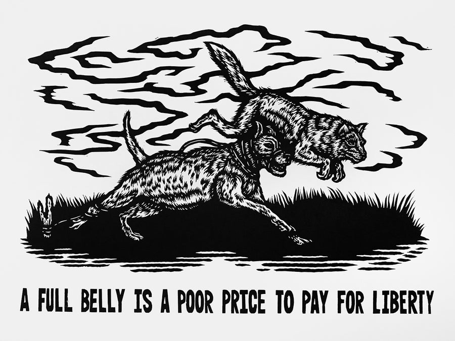 "Image of ""A Full Belly is a Poor Price to Pay for Liberty"" by Anna Hasseltine"