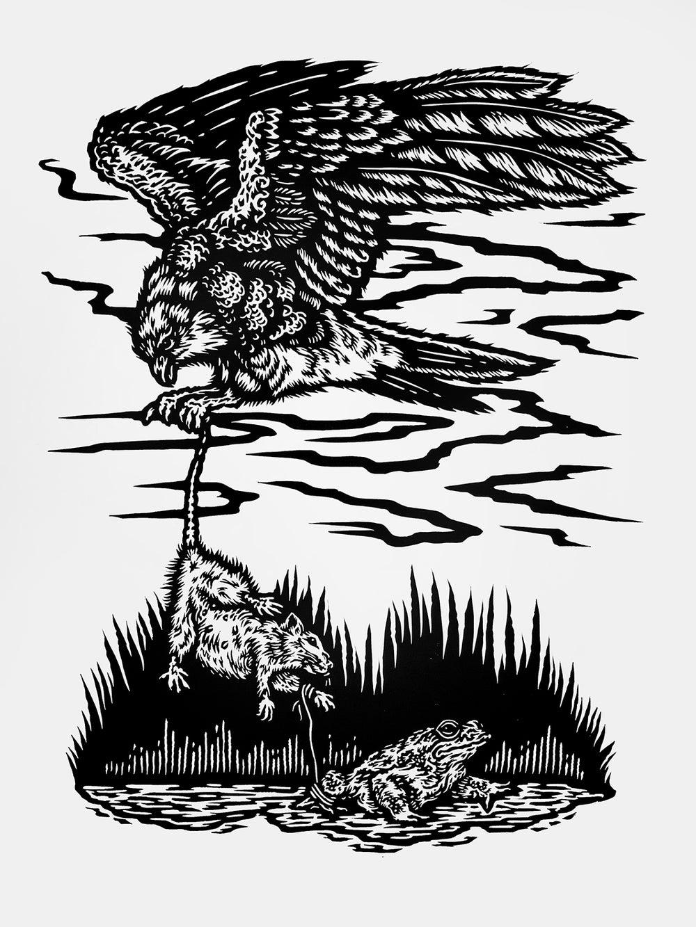 "Image of ""Harm Hatch, Harm Catch"" by Anna Hasseltine"