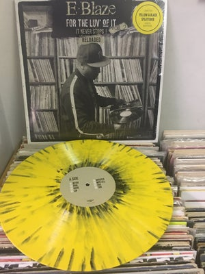 Image of For The Luv Of It Vol.2 Reloaded Vinyl (yellow/black splattered)