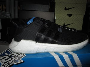 "Image of adidas EQT Support 93/17 ""Black/Gum"""