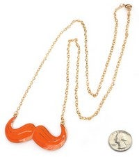 Image of MUSTACHE NECKLACE