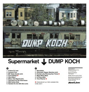 "Image of Supermarket ""Dump Koch"" Limited Cassette Re-Issue"