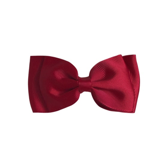 Image of Dark Red Flat Bow