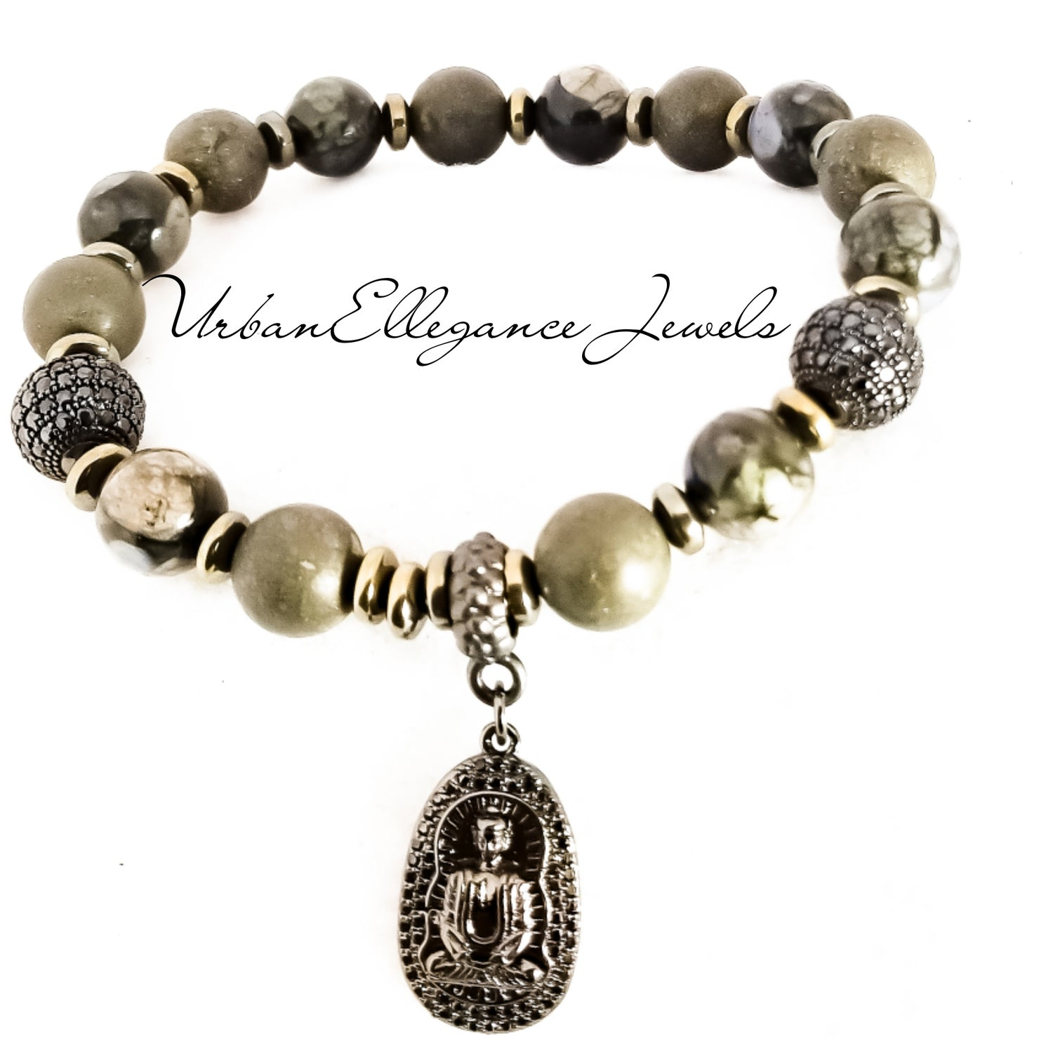 Image of 2pc Limited Edition Black Buddha