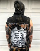 Image of The Devil's Work Distressed Vest