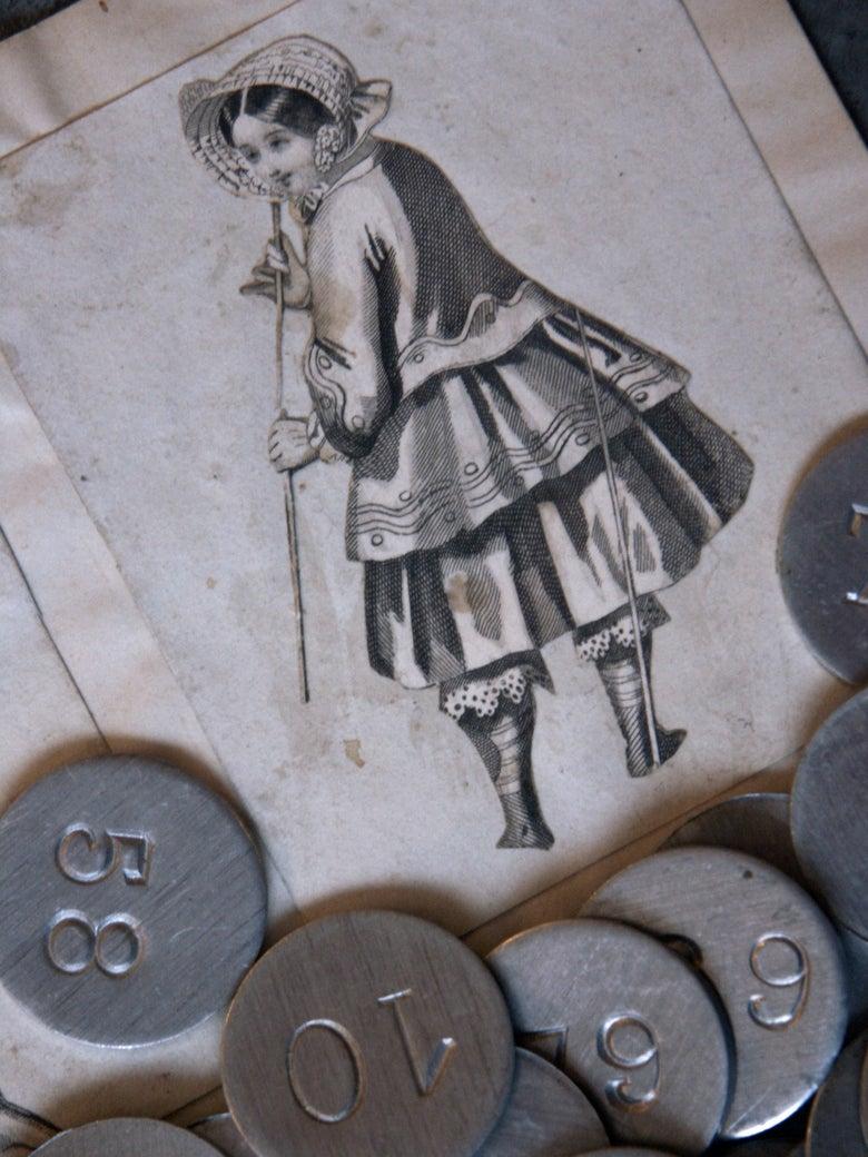 Image of Jetons en aluminium numérotés