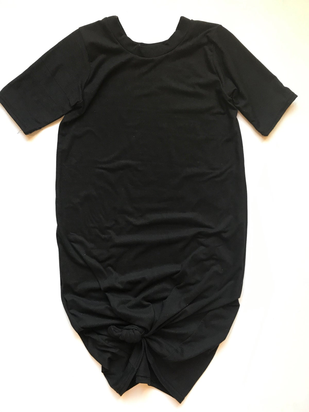 Image of Women's Black Knot Knit Dress