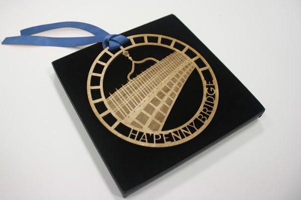 Image of HaPenny Bridge Ornament