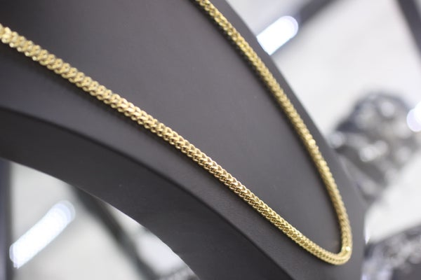 Image of Mens Solid Franco Chain