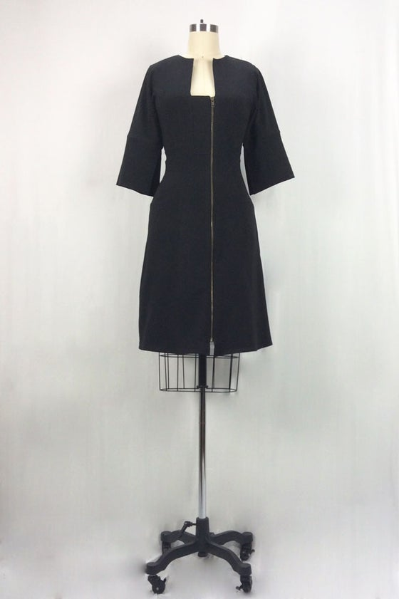 Image of Dorian dress black