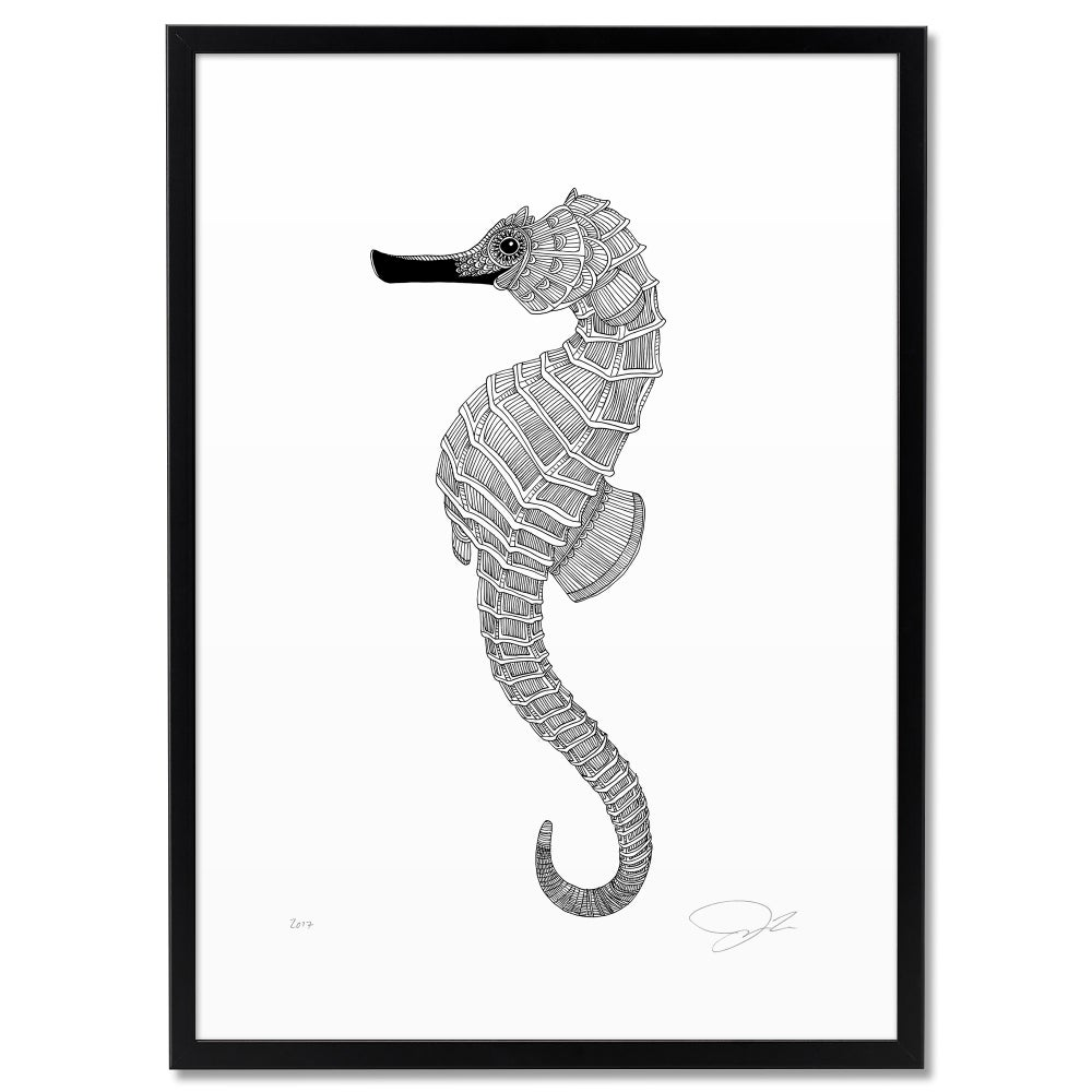 Image of Print: Seahorse