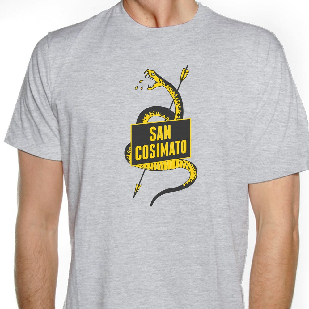 Image of Germanò: San Cosimato T-Shirt (sport grey)