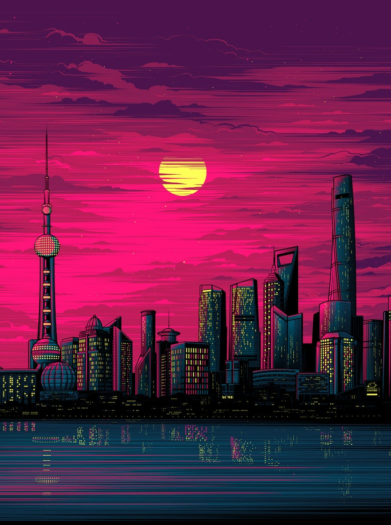 Image of Shanghai Sunset