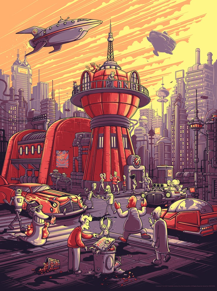 Image of Futurama - Variant