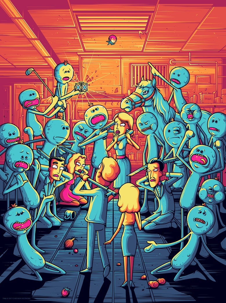 Image of Rick & Morty - I'm Mr Meeseeks!