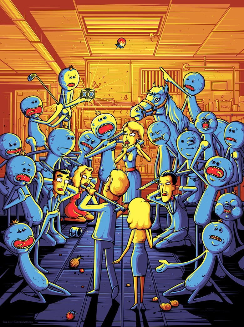 Image of Rick & Morty - I'm Mr Meeseeks! - Variant 1