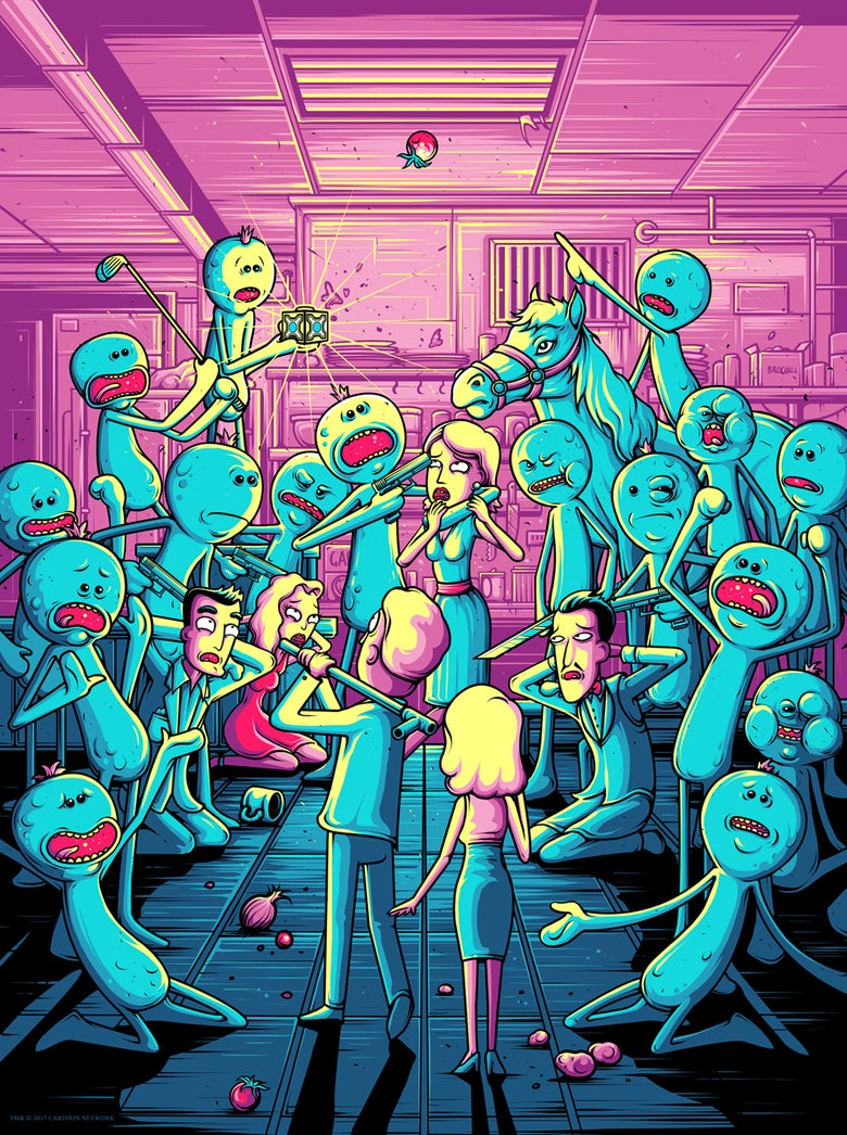 Image of Rick & Morty - I'm Mr Meeseeks - Variant 2