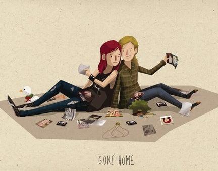 Image of Gone Home Print by Janice Chu
