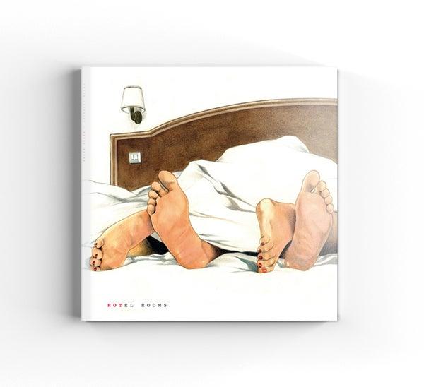 """Image of Book """"Hotel Rooms"""" + door hanger/bookmark"""