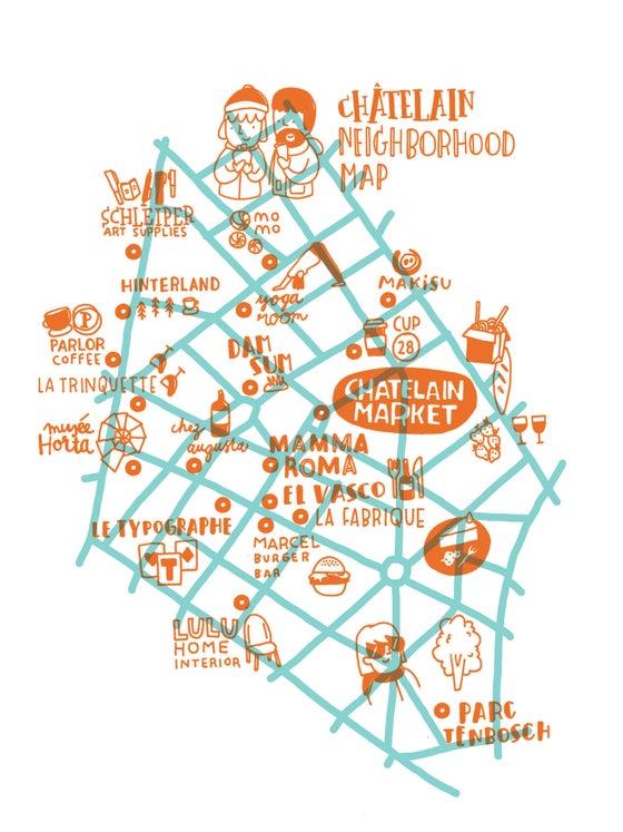 Image of Chatelain map