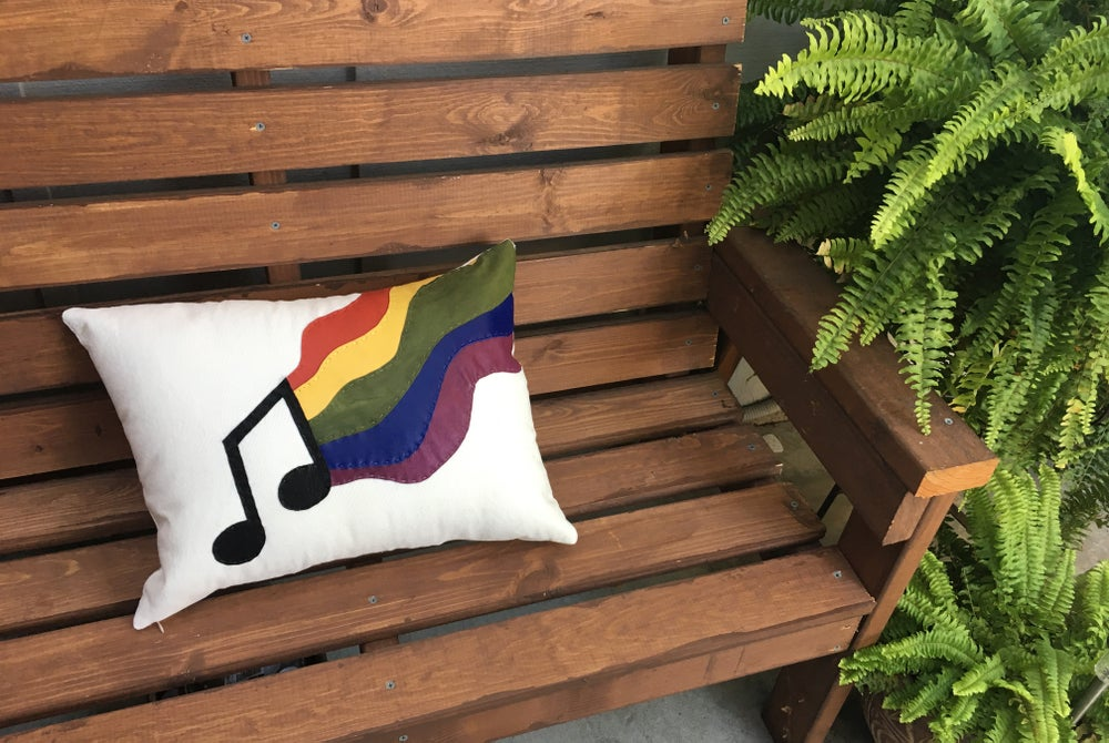 Image of Music Pillow