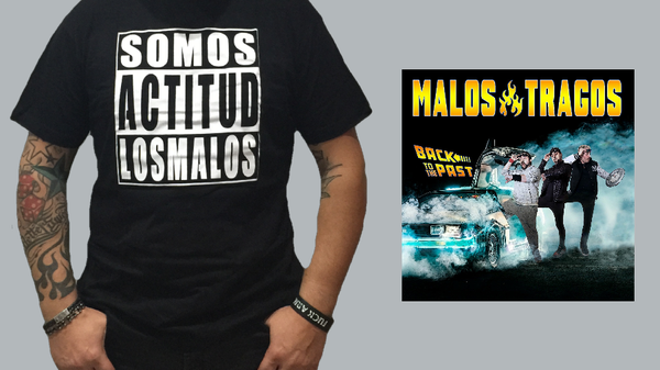 "Image of Pack Ahorro  Cd ""Back to the past""  +Camiseta  Actitud"