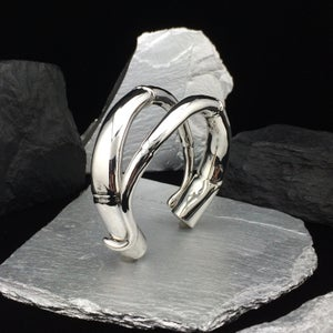 Image of Double Tendril Cuff Bracelet #2