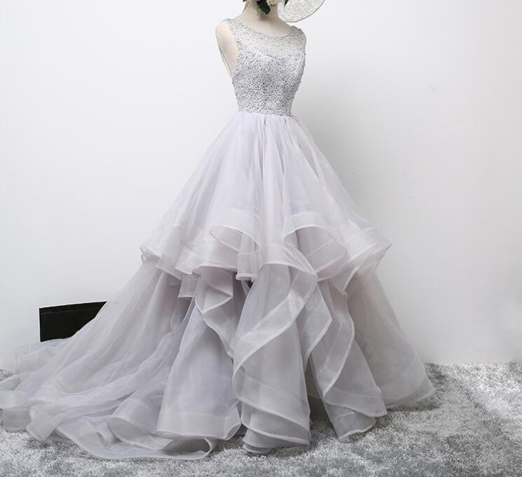 Grey Wedding Party Dresses