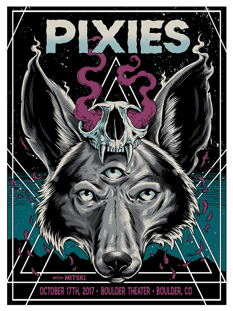 Image of Pixies Boulder, CO Poster