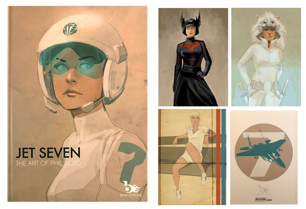 Image of JET SEVEN - The Art of Phil Noto