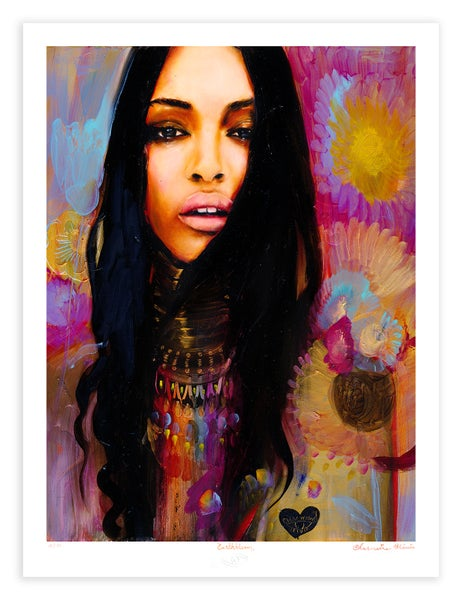 Image of Earth Bloom Limited Edition Print by Charmaine Olivia