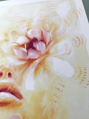 Image of Soul Bloom Hand Embellished Limited Edition Print by Charmaine Olivia