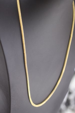 Image of Mens Franco Gold Chain