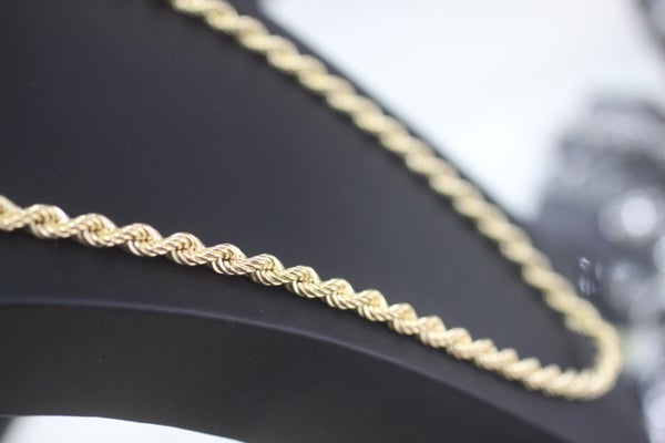 Image of Mens Long Rope Chain