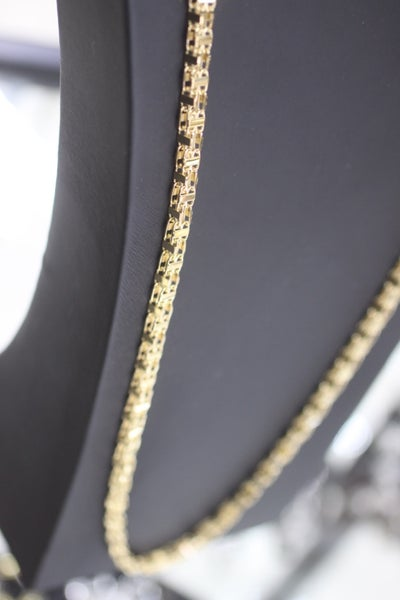Image of Mens Solid Cage Chain