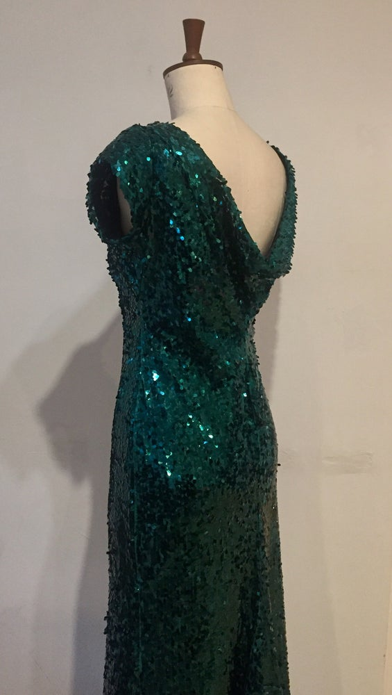 Image of Diana Sequin maxi dress