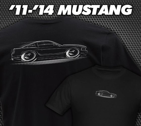 Image of '10-'14 Mustang T-Shirt Hoodies Banners