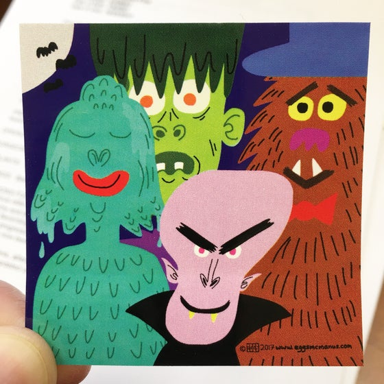 Image of Monster Sticker!