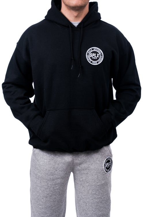 Image of SPLX Pull Over Balck Hoodie