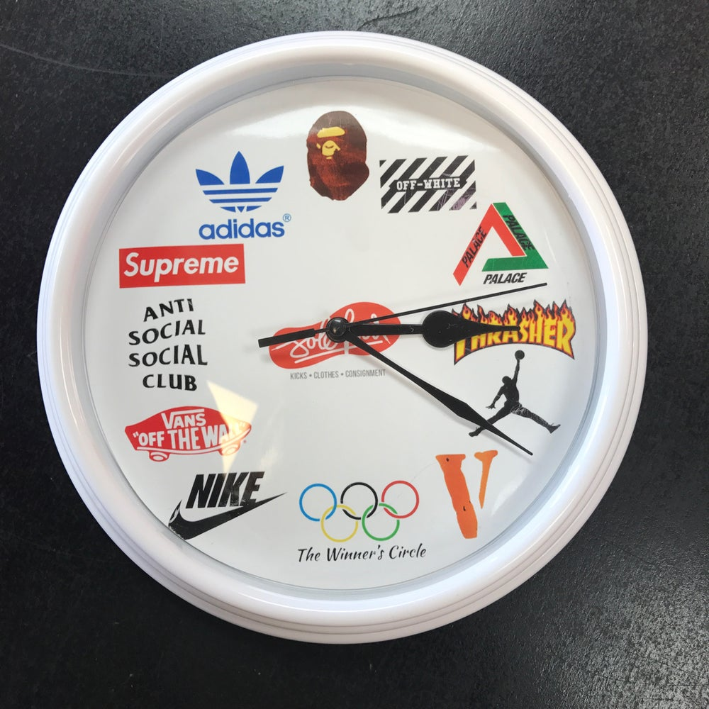 Image of Sole Food Kicks Clock
