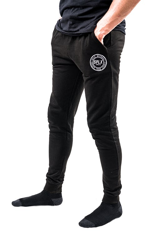 Image of Black SPLX Tapered Sweatpants