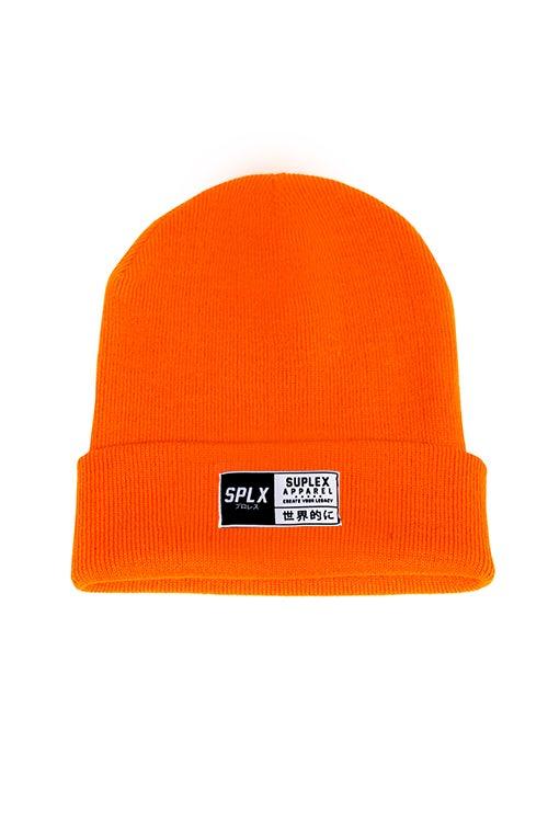 Image of Orange SPLX Beanie
