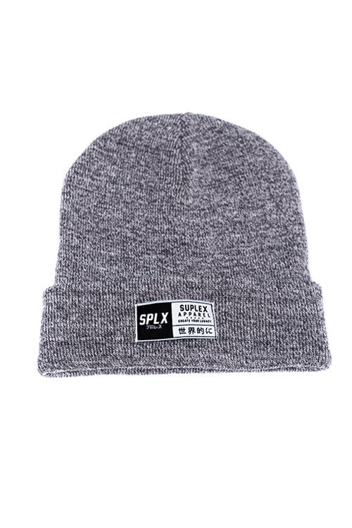 Image of Heather Grey SPLX Beanie