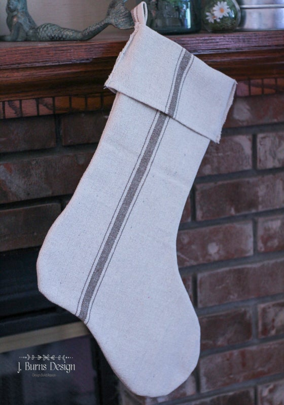 Image of Grain Sack Stockings